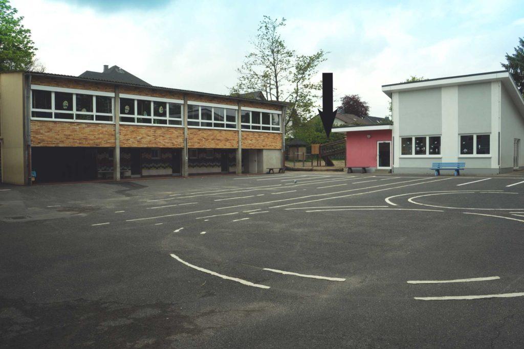 Schulhof Lindenbau heute