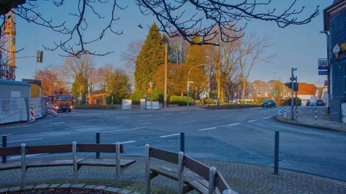 Kreuzung Hohenfuhrstraße West
