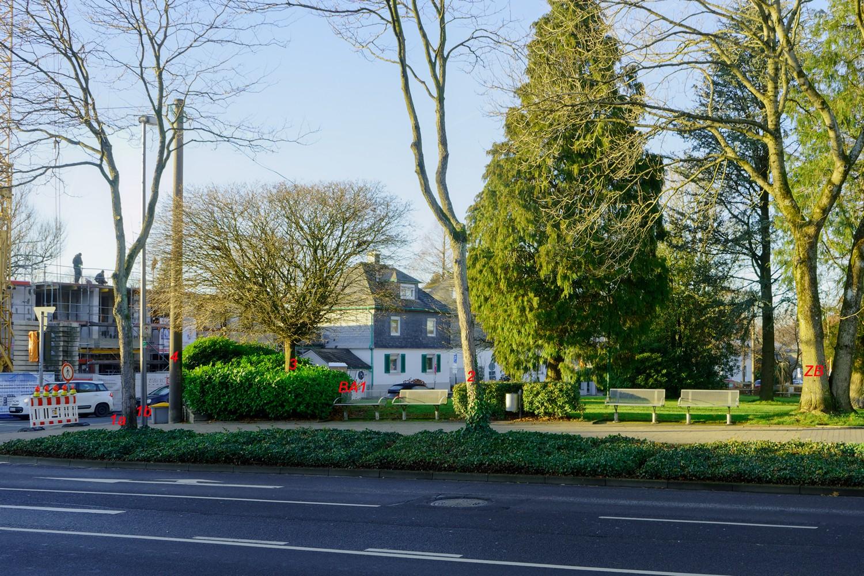 Nördlicher Rand Hohenfuhrstrasse