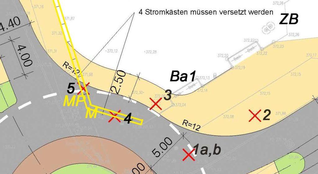 Planung Hohenfuhrstr